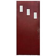 """Reclaimed Antique 36"""" Plank Door, Early 1900s"""