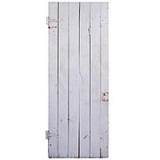 Salvaged Plank Door from Barn in Martin's Ferry, OH