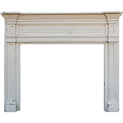 Handsome Antique Federal Fireplace Mantel, Early 1900s