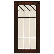 Geometric Antique American Leaded Glass Windows