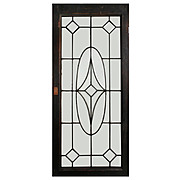 Beautiful American Leaded and Beveled Glass Windows