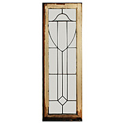 Fantastic American Leaded and Beveled Glass Windows