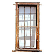 Antique Early 1800's Federal Windows with Wavy Glass & Window Weights – 3 AVAILABLE