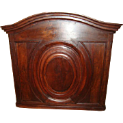 French Louis XV front panel, walnut, circa 1840