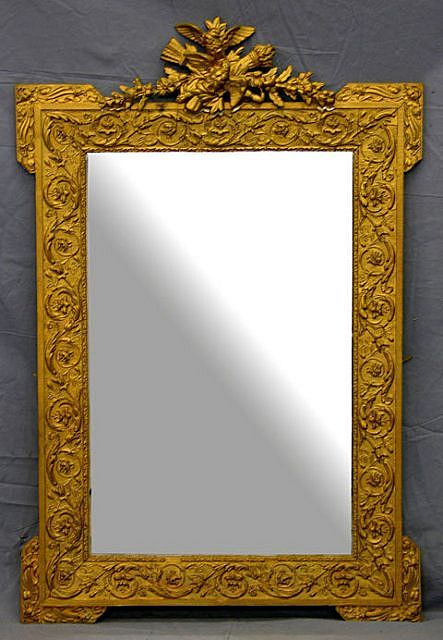 French Louis XVI Style mirror circa 1870