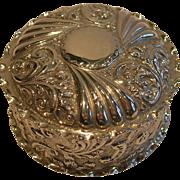 Antique English Sterling Silver Box - Birmingham 1897