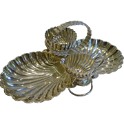 Antique English Silver Plated Strawberry Set by Hukin and Heath c.1890