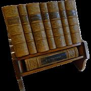 Elegant Desk-Top Reference Library by Asprey, London c.1925