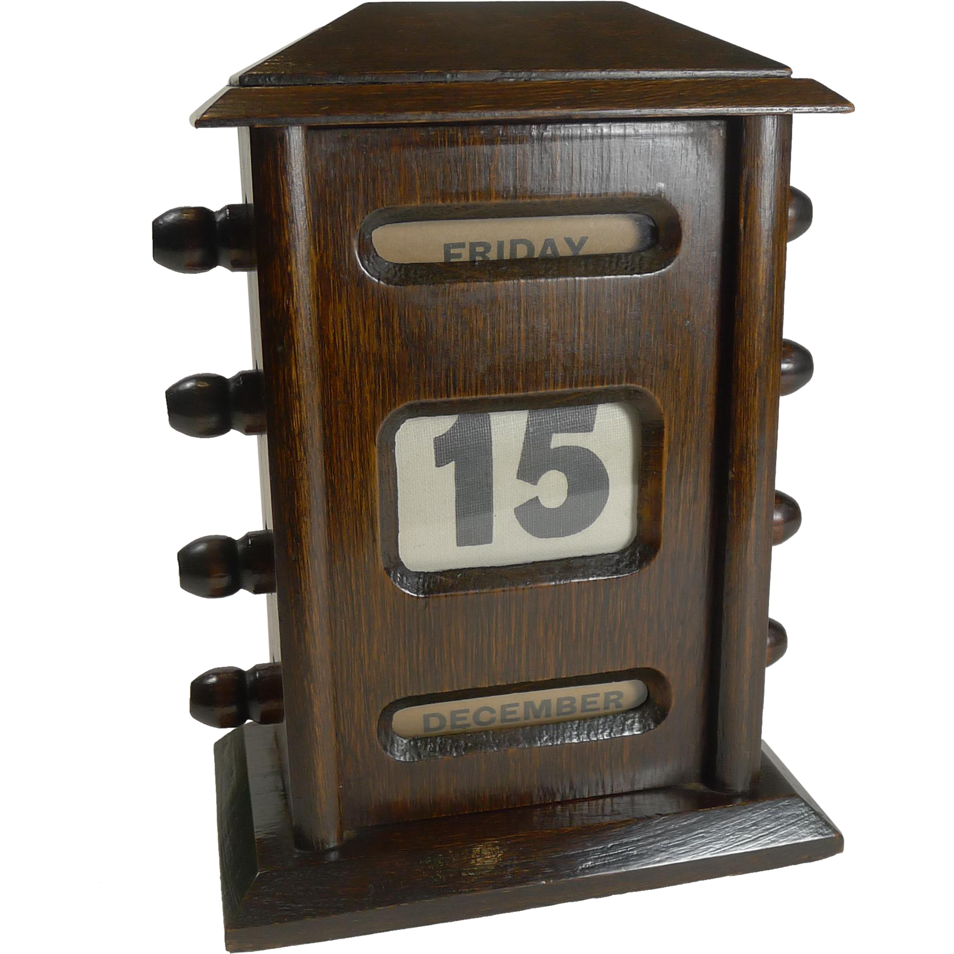 Old fashioned desk calendar 93