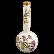 Antique Royal Worcester Bud Vase c. 1884