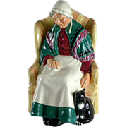 Royal Doulton Figurine - Forty Winks HN1974