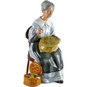Royal Doulton Figurine - Embroidering HN2855