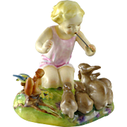 Royal Worcester Woodland Dance Figurine by F. Doughty c. 1955