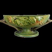 Roseville Bushberry Fruit Bowl in Green - 1-10 FB