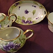 Early 20th Century E-OH Nippon China w/ 24K Gold Accents
