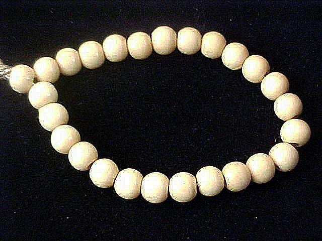 Light Oak Wooden Beads ~ Expandable