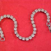 Sparkly & Top- of the Line Diamante CHATON TENNIS Bracelet