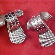 SALE Dimensional 1950's Silver Plate SCATTER PINS