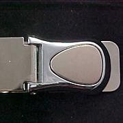 SALE Men's MONEY CLIP Circa 1950 Crafted in Silver Plate
