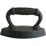 SALE Nostalgic IRON ~  Early 1900's ~ Replica First Cast Iron