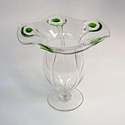 William Powell Arts & Crafts art glass vase