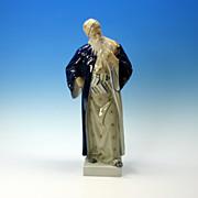 Big vintage Royal Copenhagen figure Nathan the Wise 1413