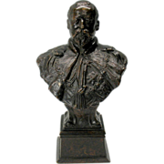 Bronze Bust of King Edward VII by Sydney March Elkington