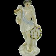 Early porcelain figure Zodiac Angel  LIBRA