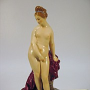 18th Century Hochst porcelain figure of a nude by Melchior