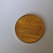 100th Anniversary Logan Kansas KS 1871-1971 Token