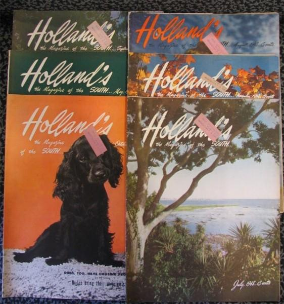 Six Issues of Holland's: The Magazine of the South