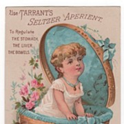 Tarrant's Seltzer Aperient Regulate the Stomach Liver and Bowels Trade Card