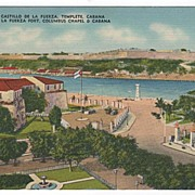 La Fuerza Fort Columbus Chapel & Cabana Havana Cuba Postcard