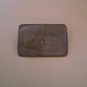 Vintage Trumbull 609 Lapel Pin