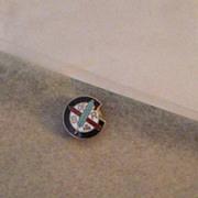Vintage B of R Lapel Pin