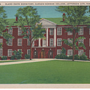 Blanc-Davis Dormitory Carson-Newman College Jefferson City TN Tennessee PC