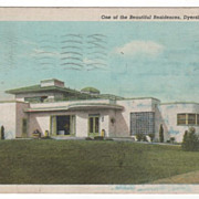 One of the Beautiful Residences Dyersburg TN Tennessee Postcard