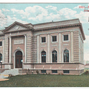 Public Library Schenectady NY New York Postcard