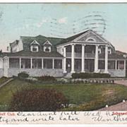 1907 Mohawk Golf Club Schenectady NY New York Postcard