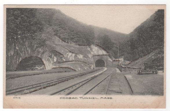 Hoosac Tunnel MA Massachusetts Postcard