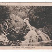 The Bears Den Orange MA Massachusetts Vintage Postcard