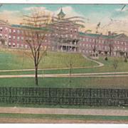 Connecticut School for Boys Meriden CT Connecticut Vintage Postcard