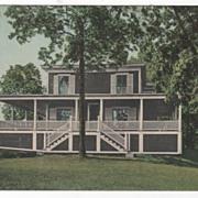 South Deerfield MA Massachusetts Mt Sugar Loaf Hotel Vintage Postcard