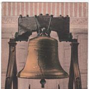 Liberty Bell Philadelphia PA Pennsylvania Vintage Postcard
