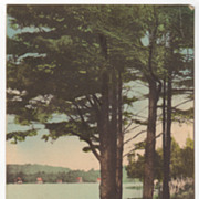 SOLD Lake Mattawa Orange MA Massachusetts Vintage Postcard