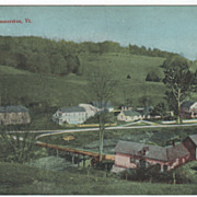 East Dummerston VT Vermont Vintage Postcard