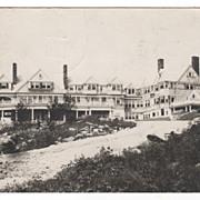 SOLD RPPC Granliden Hotel Sunapee NH New Hampshire Vintage Postcard