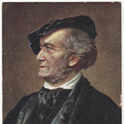 People Vintage Postcard - Richard Wagner German Composer and Conductor