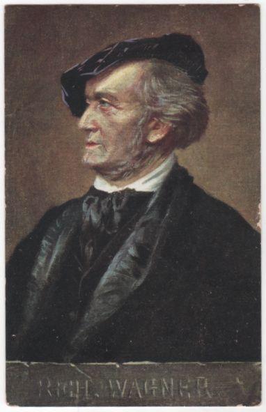 People Vintage Postcard - Richard Wagner German Composer and Conductor
