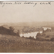 Multiscope RPPC Scene from Bryan's Hill Looking East Unspecified State Vintage Postcard